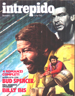 magazine Intrepido Bud Spencer