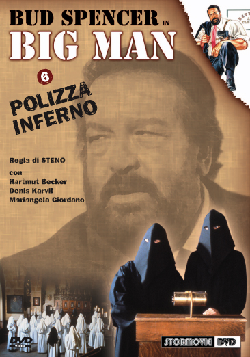 Dvd BIG MAN | Polizza inferno